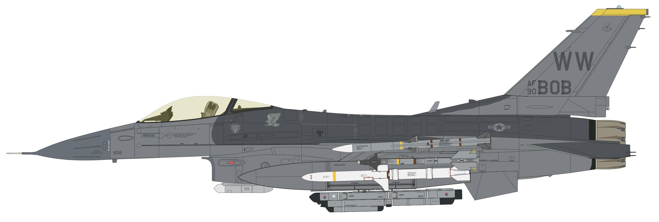 F-16CJ 13 BOB