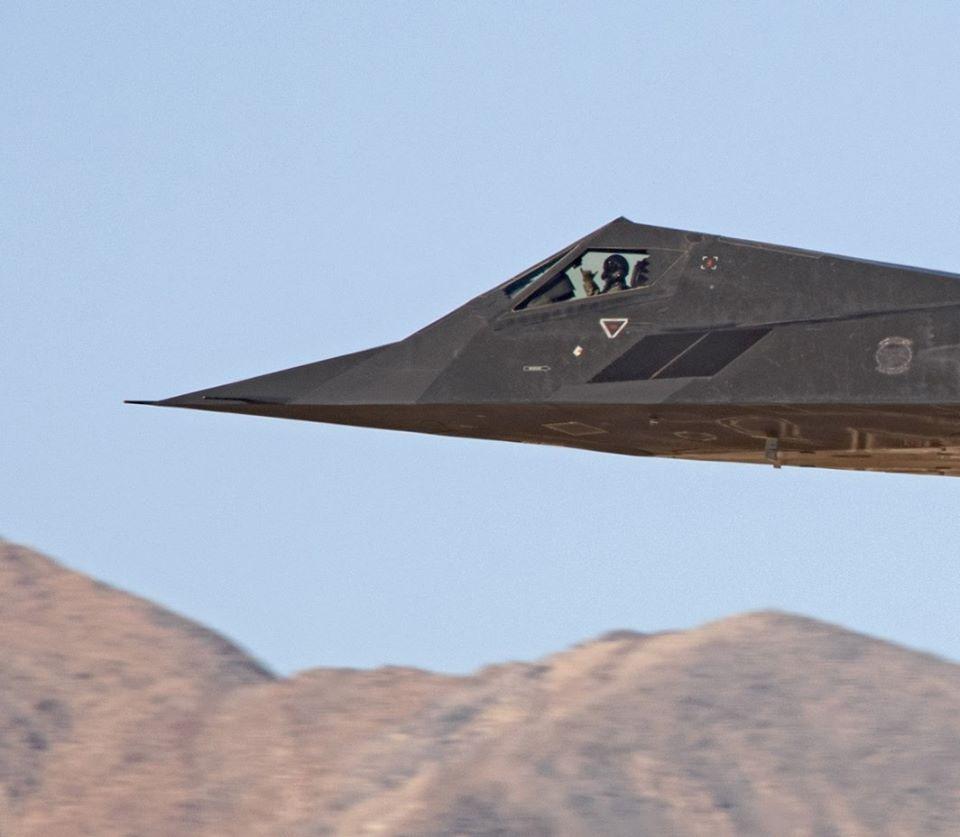 F-117 Hang Loose