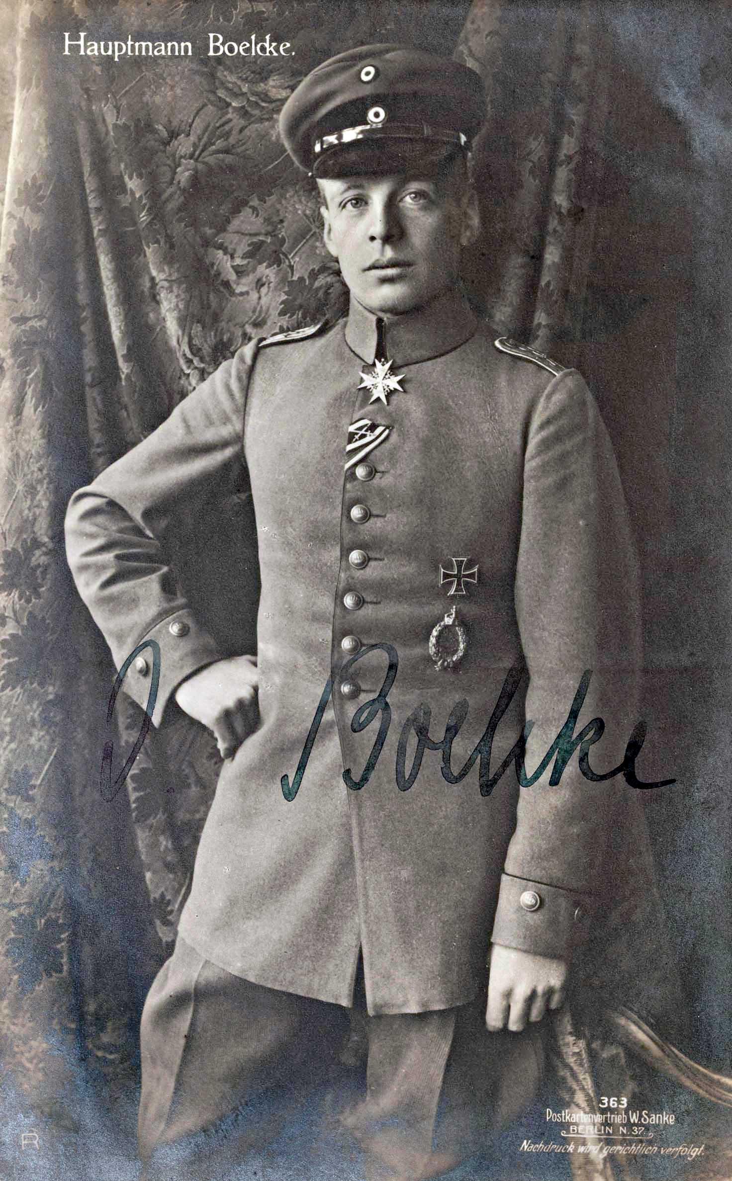 WW I Ace Oswald Boelcke