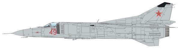 MiG-23 4477 Red Eagles